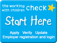 Get your Working With Children Check Here